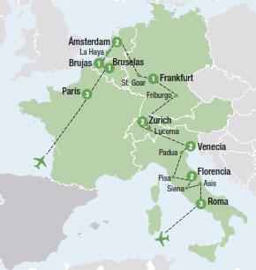 Promociones europa viajes para todos paipa tours ltda for Distancia barcelona paris