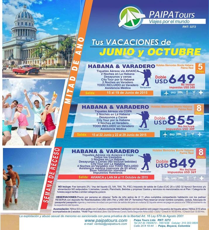 Viajes a cuba desde colombia promociones todo incluido - Viaje a zanzibar todo incluido ...